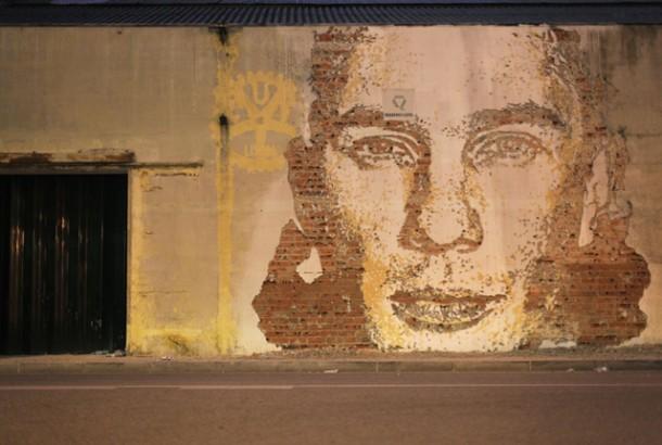 Vhils Street art Fresque murale 06