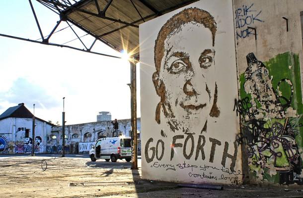 Vhils Street art Fresque murale 09