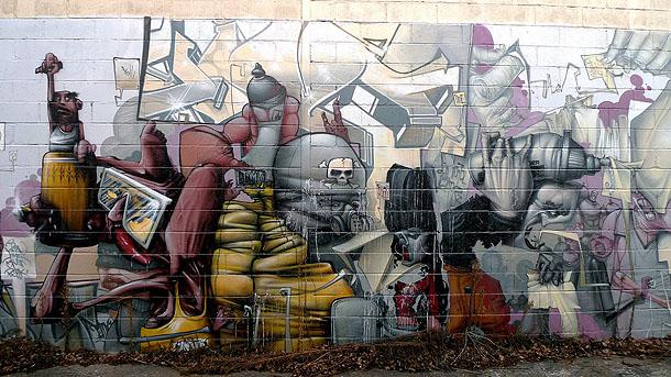Bom. K street art