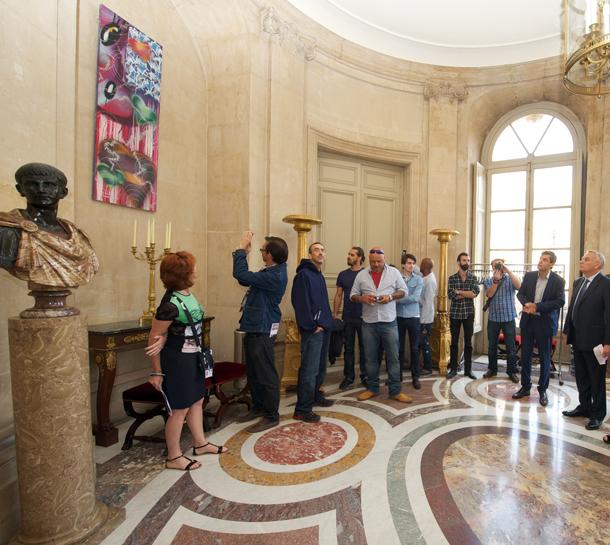 Le-Discours-dinauguration-de-M.-le-Premier-Ministre-oeuvres-à-Matignon.-1
