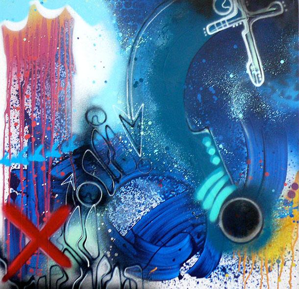 Toxic art urbain