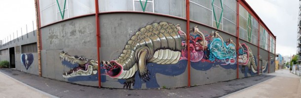 street art Nychos àParis