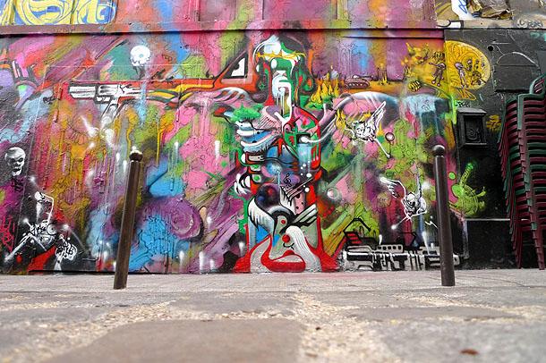Art urbain Nascio