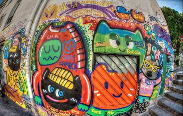 Chanoir Street art 3