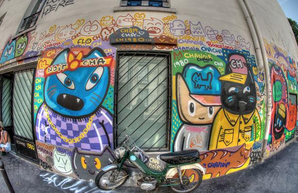 Chanoir Street art 2