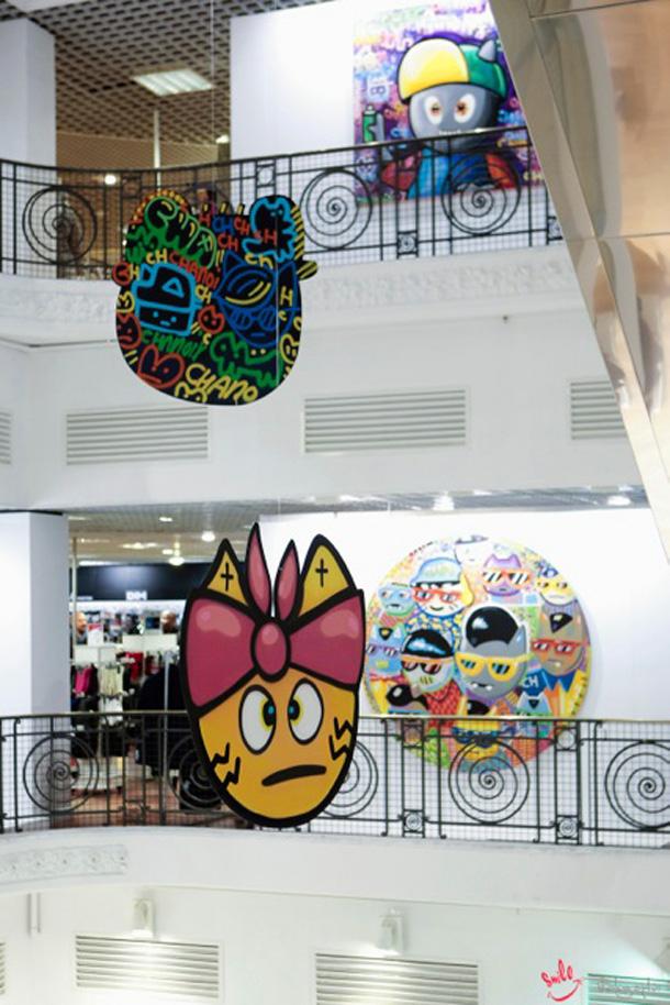 Chanoir aux galeries La Fayette 2