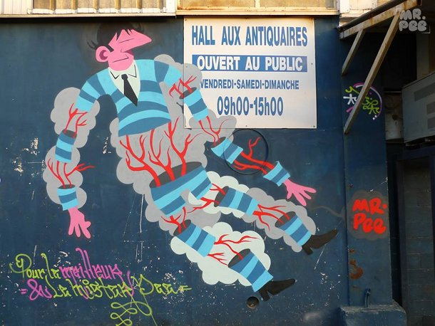 L'enraciné marseille street art show Mai 2014