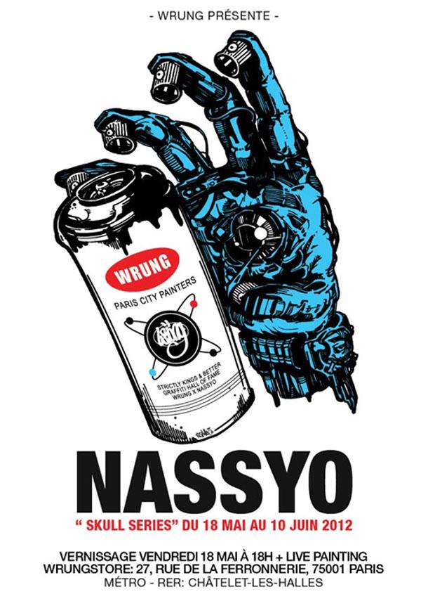 "Expo ""Skull Series"" NASSYO@WRUNGSTORE juin 2012"