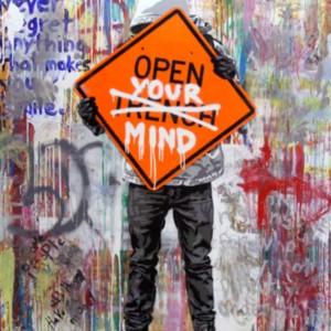 Hijack street art