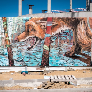 Street art Regg and Violant
