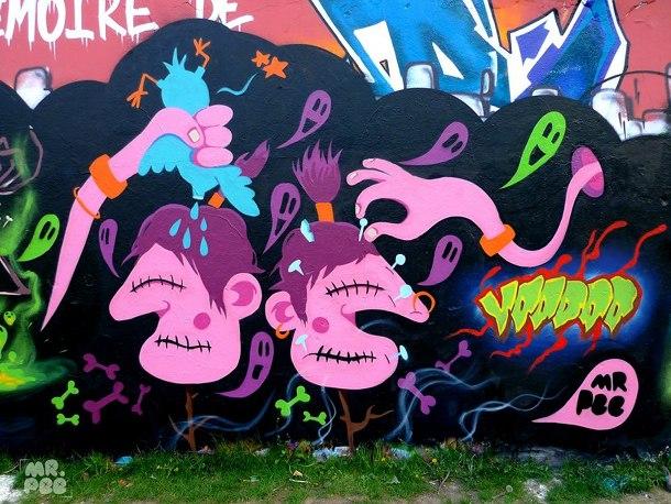 Voodoo style avec Toons et Weiss