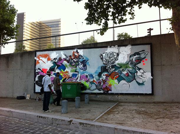 Street art Paris XIII
