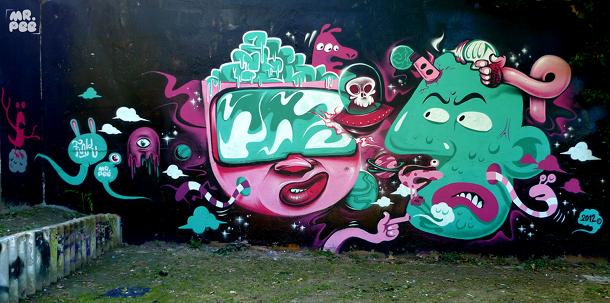 la galaxie des paumes Bagnolet | Avec Fnkasty | 2012