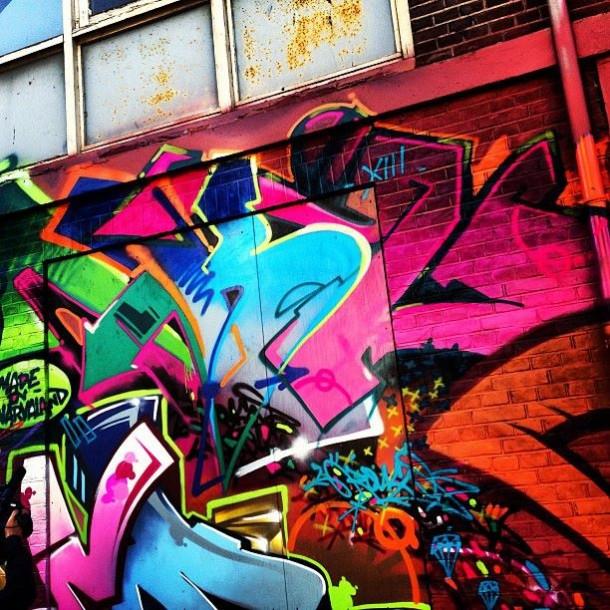 Kongo street art Amsterdam 2013
