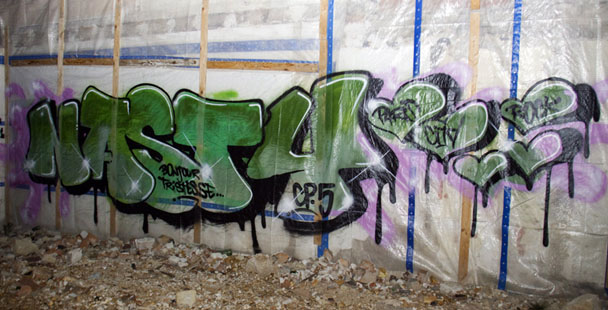 Graffiti Nasty Juillet 2014