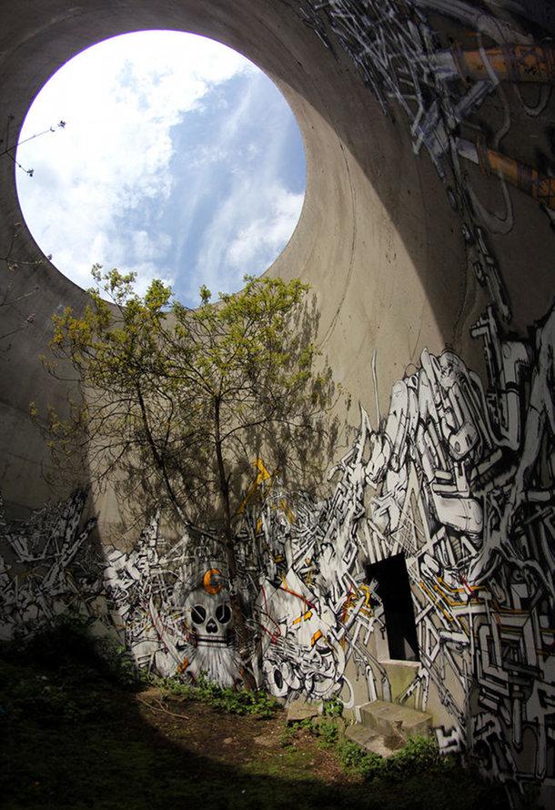 Jardin circulaire du Mausolée de Lek, Sowat et Seth