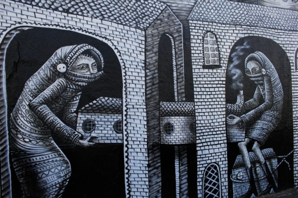 le Street art de Phlegm