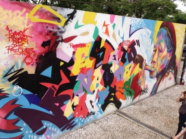 street art Kongo - Saopolo 2013