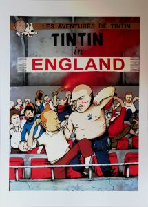 Tintin in England