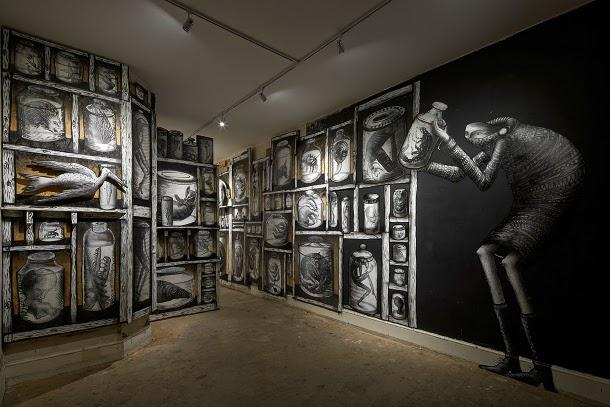 Exposition à la Griffin Gallery de Londres
