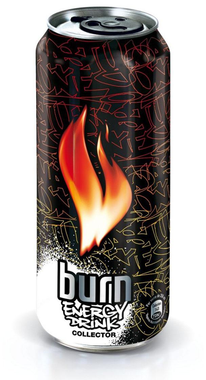 Canette de boisson énergisante Burn par Nasty