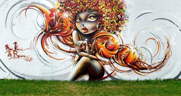 Vinie Street art