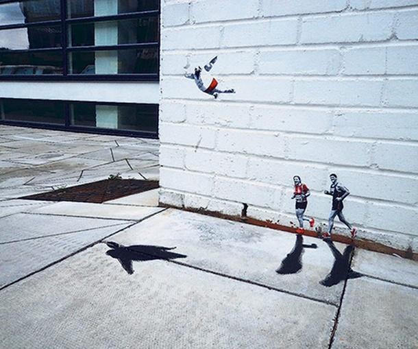 Pablo delgado le street art minimaliste for Oeuvre minimaliste