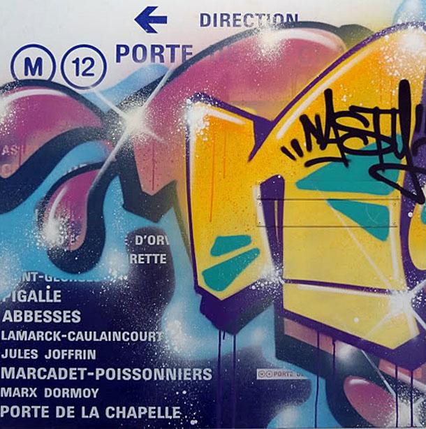 Street Art métro