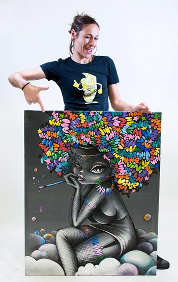 Portrait de Vinie Graffiti