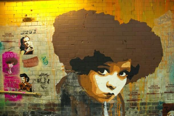 BTOY à l'exposition de Banksy