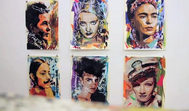 "Exposition "" beautiful transgressions"" à la SC Gallery - Bibao, Février 2013"