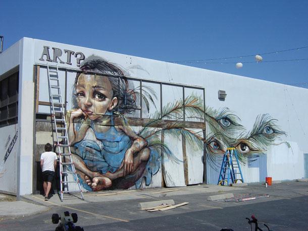 Herakut street art 2
