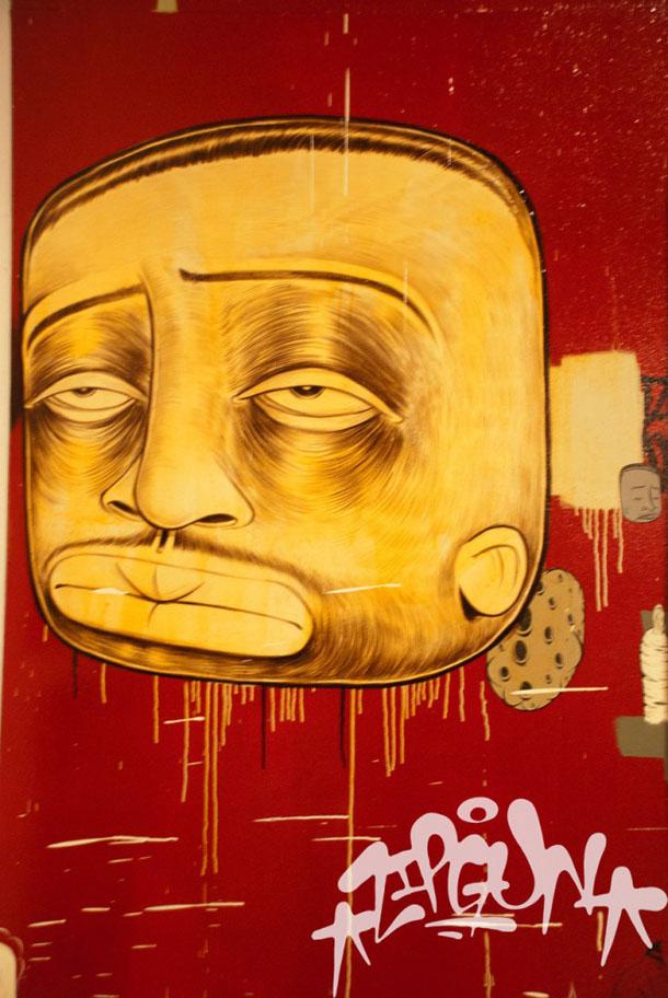 twist street art