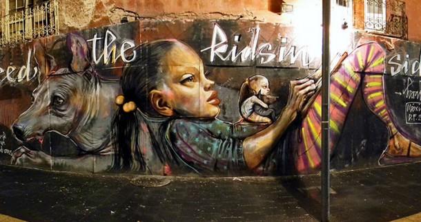 Herakut art urbain