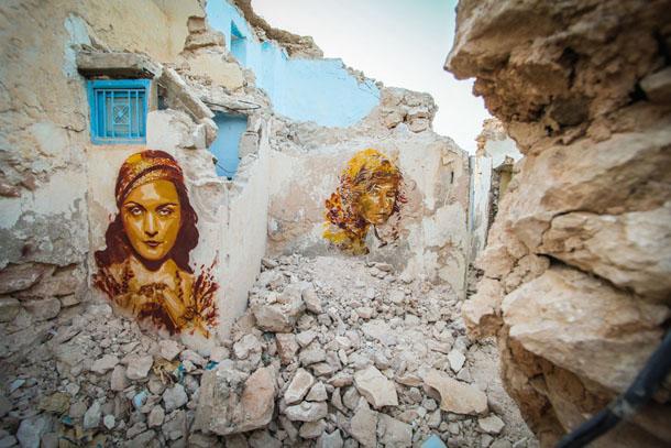 BTOY - Djerbahood, Tunisie Aout 2014