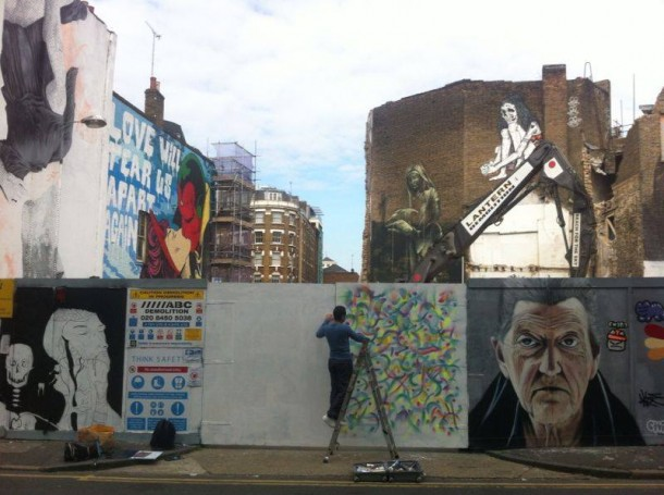 Shoreditch, Londres, Septembre 2014