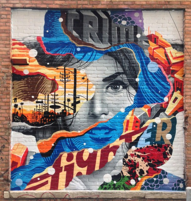 Tristan Eaton street art