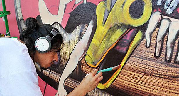 Saner les couleurs de mexico sur strip art le blog for Muralisme mexicain