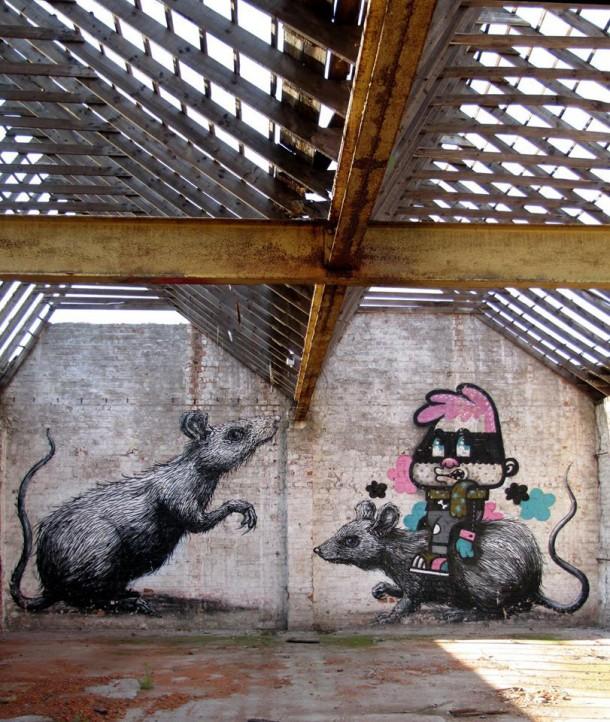 Bue & Roa - Ghent 2009