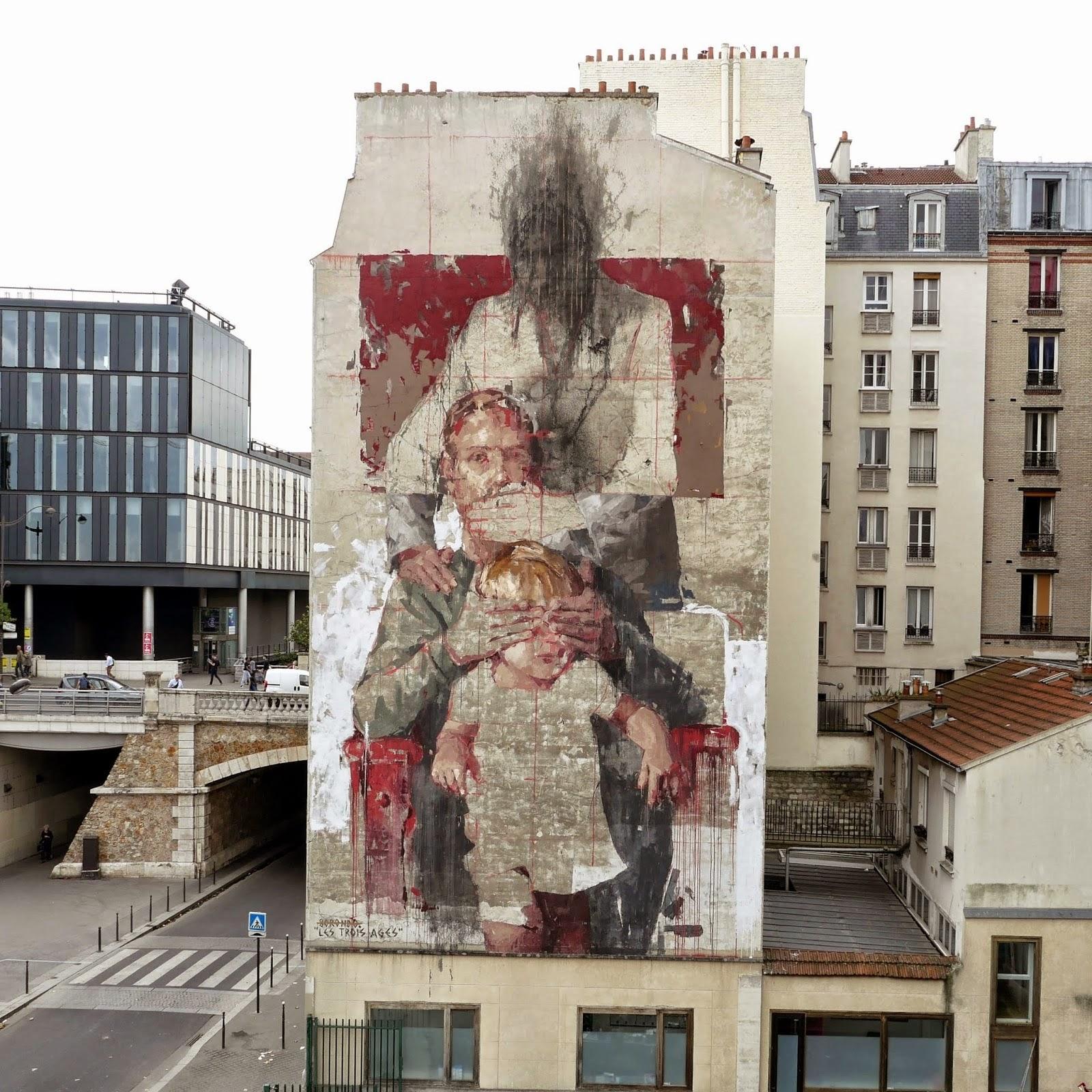 Borondo L Hommage Aux Ma 238 Tres Classiques Strip Art Le Blog