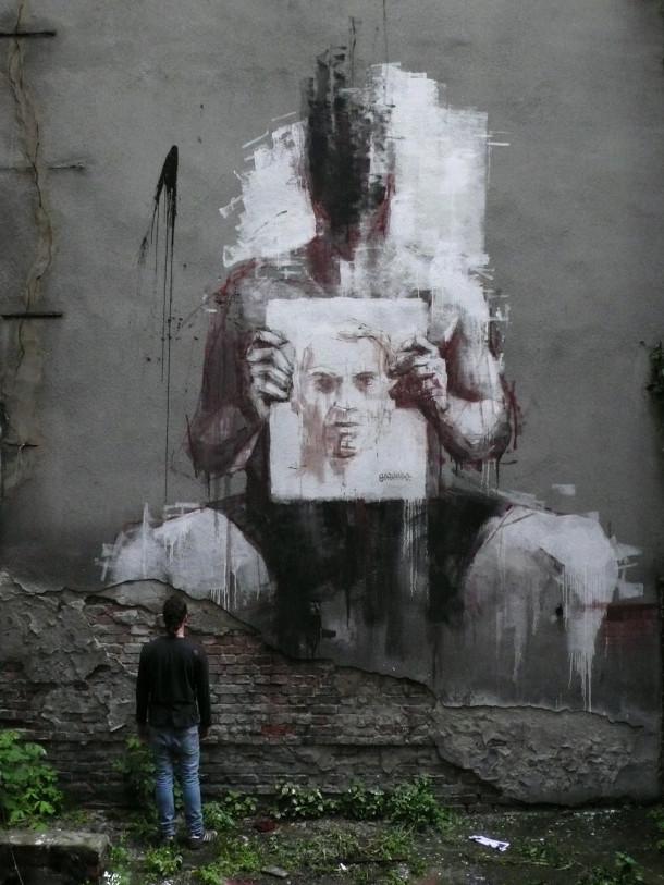 homme sans visage