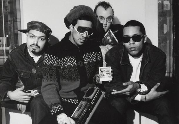 Kano, Futura, Keith Haring et Dondi