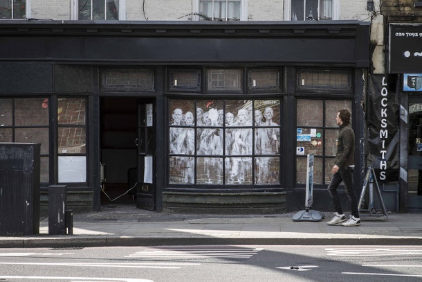 londres vitrines