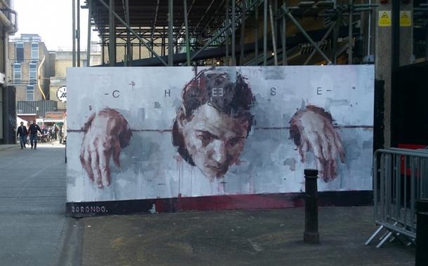 Borneo street artist