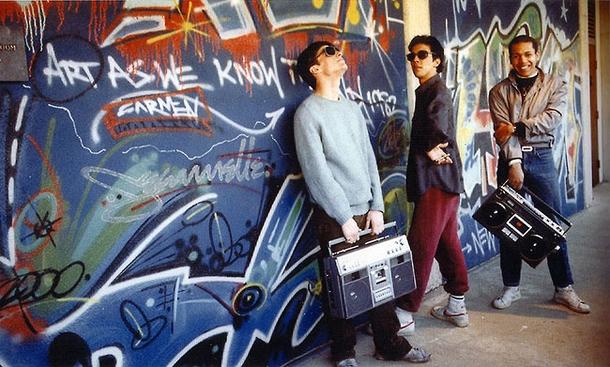 Zephyr, Futura et Dondi 1982