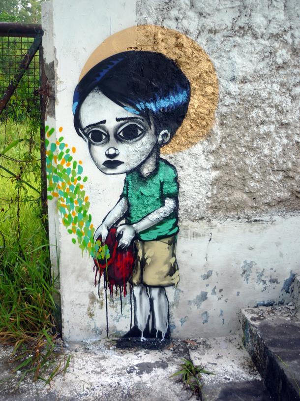Tinho Le Street Art Br 233 Silien Strip Art Le Blog