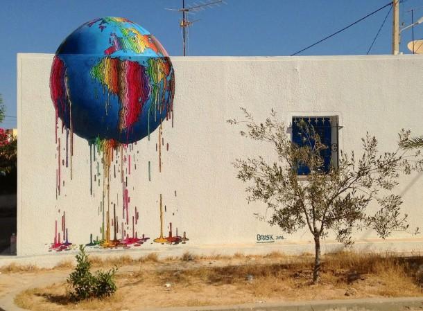 Street art de Brusk