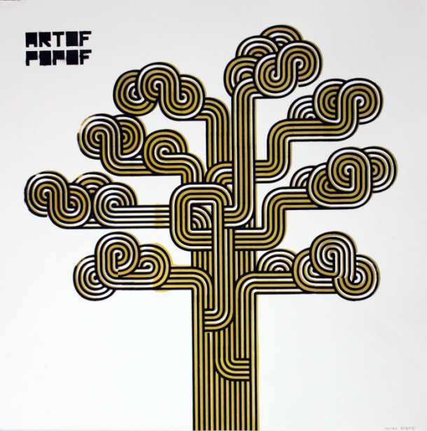 ARTOF POPOF Popof Tree sur Strip Art