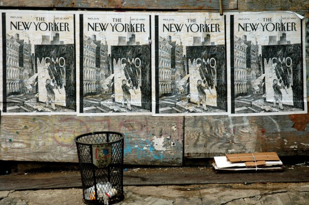 MOMO the New Yorker Cover_project