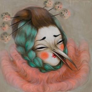 Miss van street art à drouot